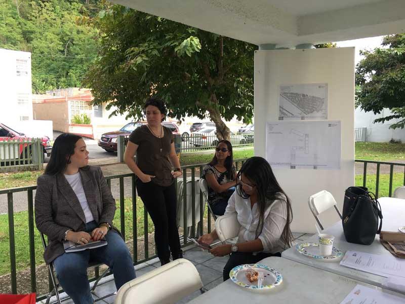 Denisse Rosario Yance, CODDI; María E. Vázquez Robles, CODDI; Violeta M. Sierra Vega, CODDI, Ileana González Rivera, CODDI